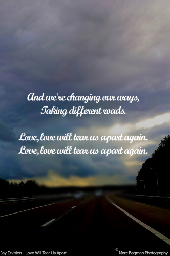 Quote 29: Joy Division – Love Will Tear Us Apart