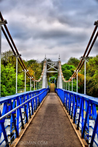 Teddington - Foot bridge