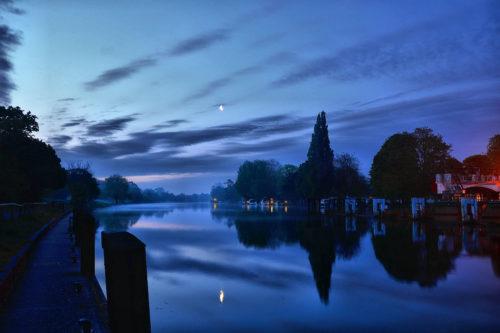 Sunrise - Teddington Weir